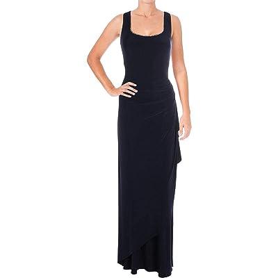 Alex Evenings Ruched Dress With Rhinestone Trim Bolero Jacket