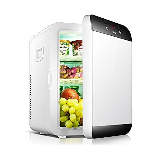 Refrigerador,Mini Nevera Portátil para El Skincare 16L,Nevera para Coche, Camión, Barco Y Autocaravana, 12V/220V,Nevera Portátil De Compresor, para Enfriar Y Calentar