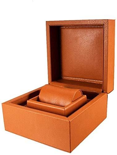 KEEBON Reloj Boxes Boxes Reloj de Gama Alta Caja de Cuero Joyería Caja de Reloj Caja de Reloj PU Joyería Caja de Almacenamiento Reloj Exhibición