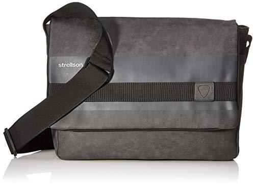 Strellson Finchley Messengerbag LHF Grau