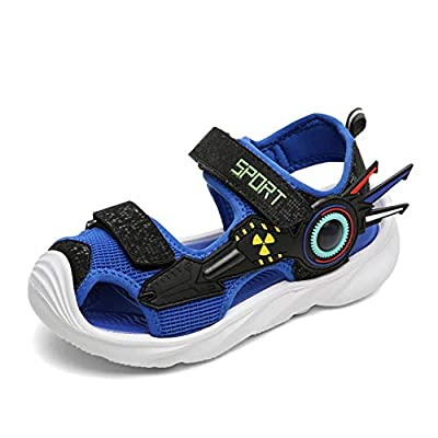 UBFEN Boys Girls Sandals Summer Closed-Toe Beach Sport Outdoor Non-Slip Kids Water Shoes