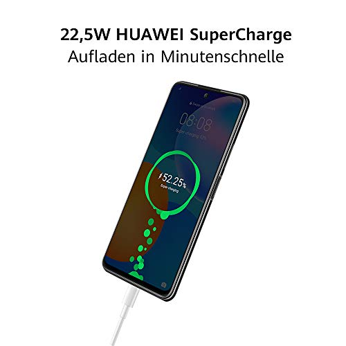 HUAWEI P smart 2021 Dual SIM Smartphone (16,94 cm - 6,67 Zoll, 128 GB interner Speicher, 4 GB RAM, Android 10 AOSP ohne Google Play Store, EMUI 10.1) crush green + 5 EUR Amazon Gutschein - 3