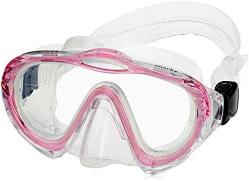 Mares Erwachsene Mask Sharky Taucherbrille, Rosa, One Size