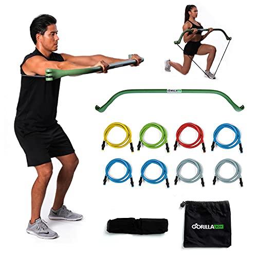 Gorilla Bow Portable Home Gym Resistance Band...