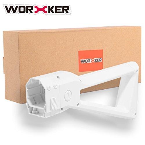 Worker Stock, PeleusTech Worker Stock Upgrade for Nerf Retaliator Stryfe N-Strike Elite Series - White