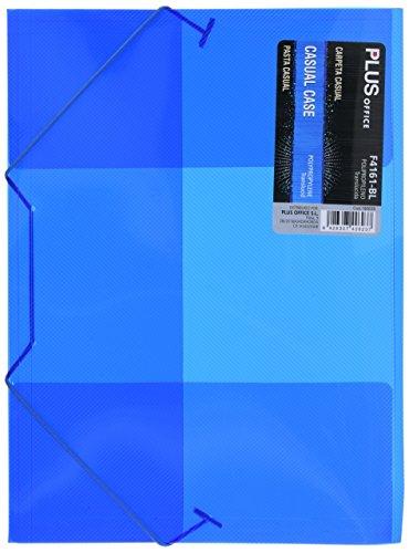 Carpetas Plastico A4 Con Gomas Marca Plus Office