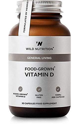 Wild Nutrition Food-Grown Vitamin D Capsules 30