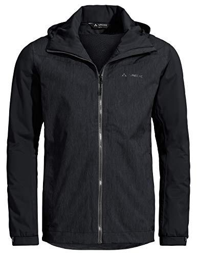 VAUDE Herren Cyclist Jacket II Regenjacke für Citybiker, black, 54, 413790105500