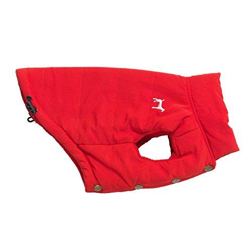 Huis Van Paws HP697RS Huis Van Paws Rode Fleece Gevoerde Gilet Kleine 30cm, X-Large, Rood