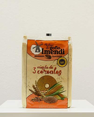 Gofio IMENDI Mix 3 Cereali 1 Kg. Prodotto Isole Canarie