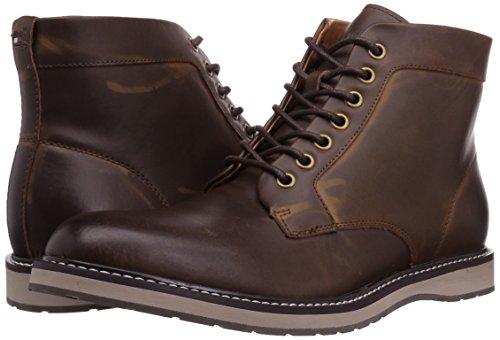 Tommy Hilfiger Men's Lari Chukka Boot, Cognac, 10.5 Medium US
