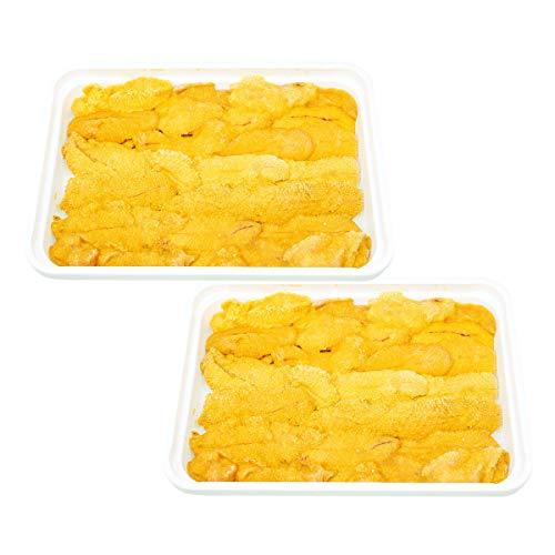 一幸 冷凍生ウニ 100g×2 ウニ 冷凍 ミョウバン不使用 無添加 魚介類 新鮮 高級食材 大阪