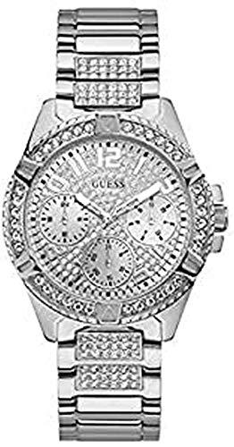 GUESS Reloj Analógico para Mujer de Cuarzo con Correa en Acero Inoxidable 8431242949543