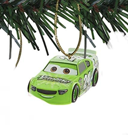 asdf Disney Cars Brick Yardley Green 3 Custom PVC Holiday Christmas Tree Ornament product image
