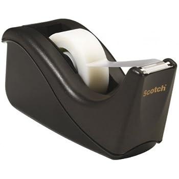 Scotch 3M Magic Dispenser Designed by Karim con 1 Rotolo di Nastro Adesivo Bianco Invisibile