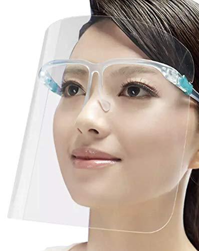 FRINKO Gesichtsschutz Spuckschutz Schutzmaske Schutzvisier Gesichtsschild Mask Visier | CE Zertifiziert