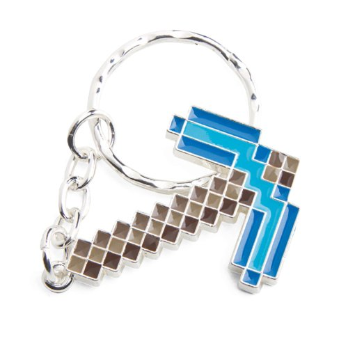 Minecraft sleutelhanger diamant pickax/diamant