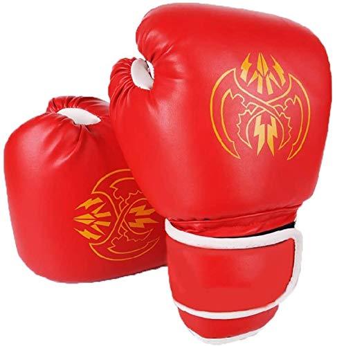 Boxen Trainingshandschuhe Monster Muster Boxhandschuhe Boxen MMA Boxsack Trainings Mitts 4 Farben Optional for Boxen Muay Thai MMA Boxhandschuhe (Farbe: Gelb, Größe: 10 Unzen)