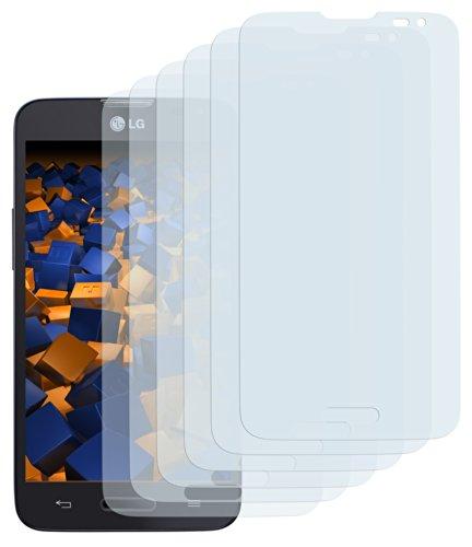 mumbi Schutzfolie kompatibel mit LG L90 Folie klar, Bildschirmschutzfolie (6X)