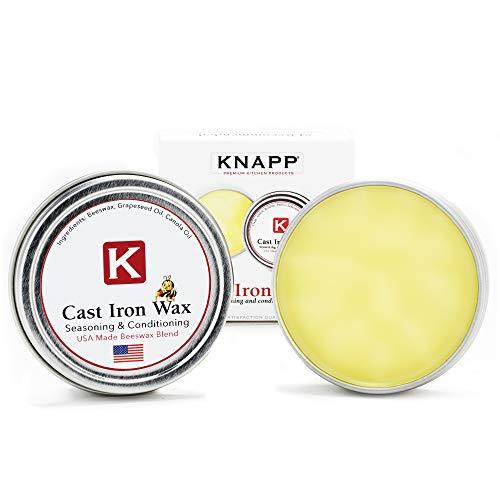Knapp Made Cast Iron Seasoning and Conditioner -...