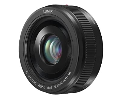 Panasonic Lumix G 20mm f/1.7 II ASPH Lens for Micro Four Thirds Cameras from Panasonic