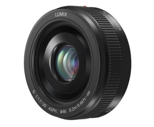 PANASONIC LUMIX G II Lens, 20MM, F1.7 ASPH,...