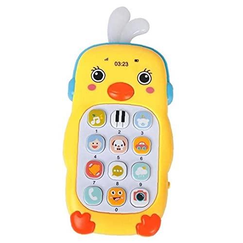 TOSSPER 1pc Infantil del Teléfono Móvil De Juguete Teléfono Bebé Temprano Regalo Juguetes De Aprendizaje De Máquina Móvil para La Educación De Niños
