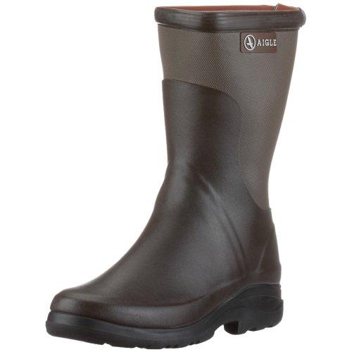 Aigle Rboot Bottillon Gummistiefel, Unisex - Erwachsene Gummistiefel, Braun (brun / taupe 4) 43