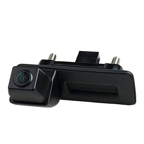 Wasserdicht Griffleiste Kamera integriert in Koffergriff Rückansicht Rückfahrkamera für Skoda Roomster Superb Cambi Yeti Fabia Octavia II 1Z 2 A1 (Model B=Rectangular Interface Connector)