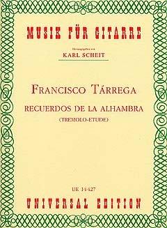 RECUERDOS DE LA ALHAMBRA - gearrangeerd voor gitaar [Noten/Sheetmusic] component: TARREGA FRANCISCO