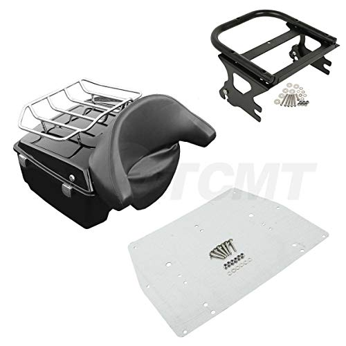 TCMT King Tour Pack Trunk Fits For Harley Davidson Road King Electra Glide 1997-2008