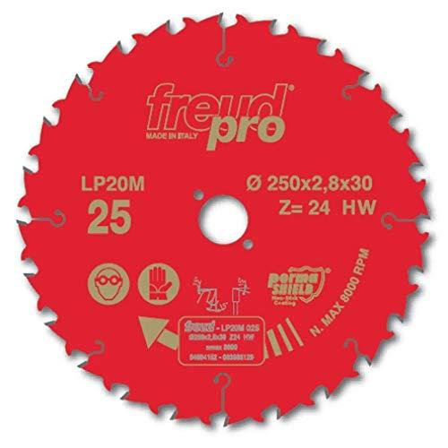 FREUD PRO LP20M 025 TCT Kreissägeblatt, 250 x 30 mm - 24T