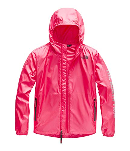 The North Face Youth Flurry Wind Hoodie, Atomic Pink, Size XS