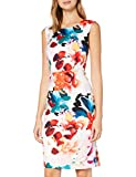 Gina Bacconi Women's Salma Floral Sheath Dress Vestido de cctel, Multicolor, 38 para Mujer