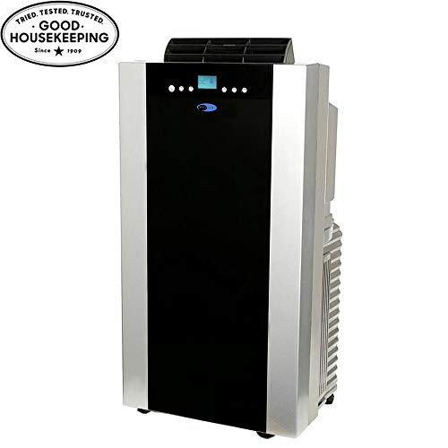 Whynter ARC-14SH 14,000 BTU Dual Hose Portable Air Conditioner and Heater, Dehumidifier, Fan with Activated Carbon Filter plus Storage bag for Rooms up to 500 sq ft