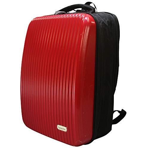 トランスポーター Mサイズ ハードシェル リュックサック 大容量 レッド(RED)