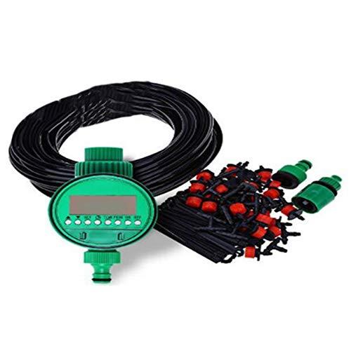 MINGMIN-DZ Dauerhaft 25M DIY Automatische Micro-Drip-Bewässerungssystem Pflanze Bewässerung Gartenschlauch Kits mit justierbarem Dripper Gartenbewässerung Kits