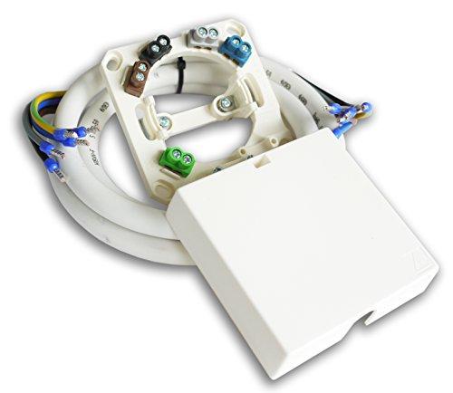 Herdanschlußset 2,5m Herdanschlusskabel H05VV-F 5G2,5 inkl. Herdanschlussdose AP/UP