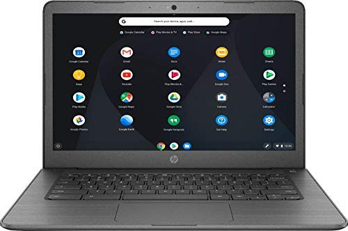 HP Newest 14inch Chromebook AMD Dual-Core A4-9120C Processor, 4GB DDR4 Memory, 32GB eMMC Storage, AMD Radeon R4 Graphics, Chrome OS-Gray(Renewed)