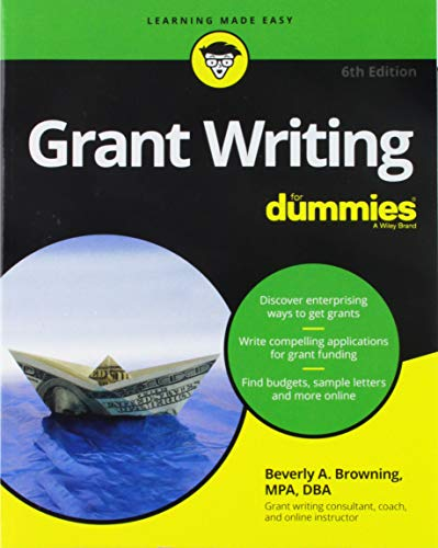 Grant Writing For Dummies 6e