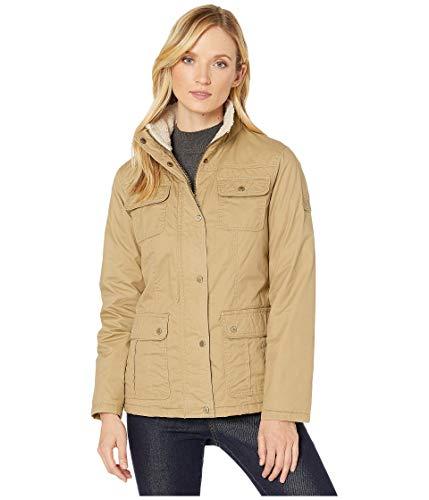 LAUREN RALPH LAUREN Waxed Cotton Field Jacket Khaki XS