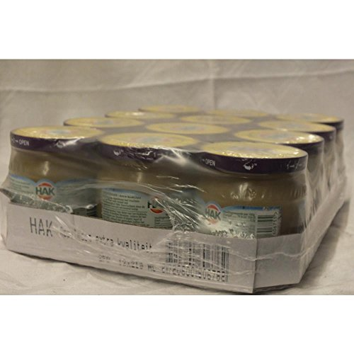 HAK Appelmoes 12 x 200g Glas (Apfelmus)