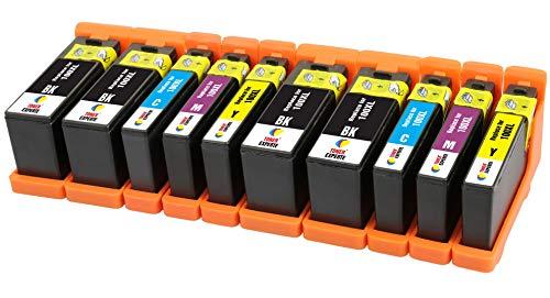 TONER EXPERTE® 10 XL Druckerpatronen kompatibel für Lexmark 100 100XL S305 S308 S402 S405 S505 S602 S605 S815 Pro202 Pro205 Pro208 Pro209 Pro705 Pro805 Pro901 Pro905   hohe Kapazität