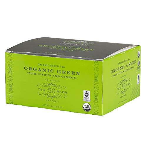 Harney & Sons Green Citrus and Ginkgo 50 Teabags