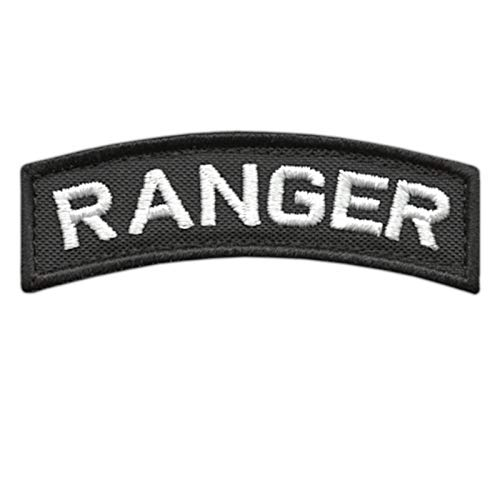 2AFTER1 Ranger Shoulder Tab US Army Rangers Badge Tactical Morale Hook-and-Loop Patch