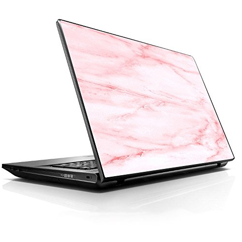 15 15.6 inch Laptop Notebook Skin Vinyl Sticker Cover Decal Fits 13.3' 14' 15.6' 16' HP Lenovo Apple Mac Dell Compaq Asus Acer/Rose Pink Marble Pattern