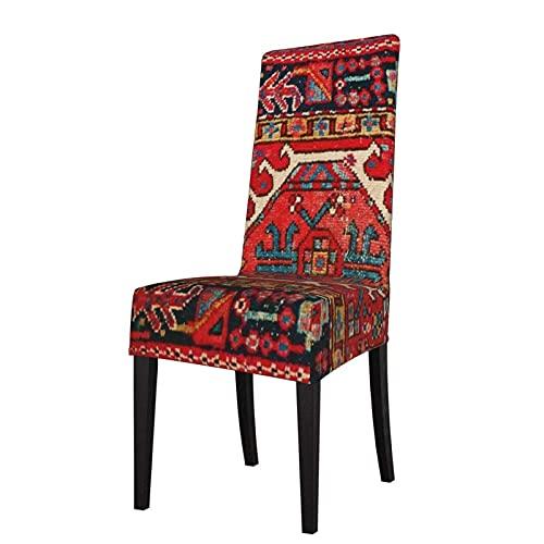 Fundas para sillas Alfombra turca Oriental Antigua Estiramiento de la Silla de Comedor Protector de Asiento Funda de Asiento para sillas