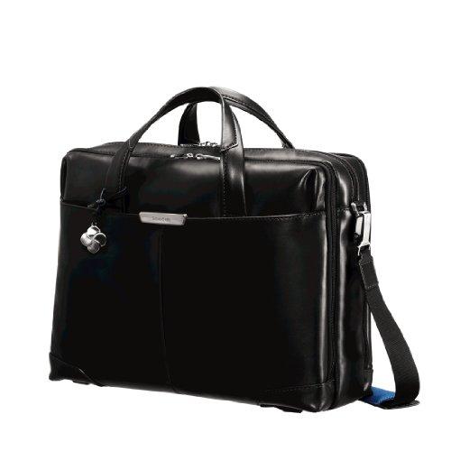 Samsonite 51033 - Maletín S-oulite LTH Bailhandle (15,6', 16,5 litros), Color Negro