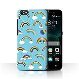 Stuff4 Phone Case for Huawei G Play Mini NHS Rainbow