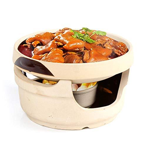 Brownrolly Leichte und langlebige Ton Keramik Grill, Camping Geschirr Set